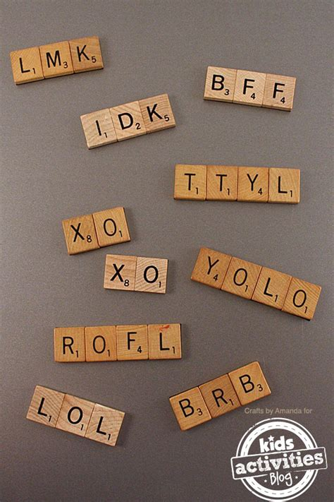 scrabble tiles craft 38 diy craft ideas to repurpose boards to sell