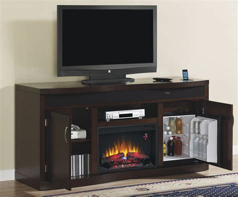 Fireplace Center by 73 Quot Endzone Espresso Electric Fireplace Entertainment