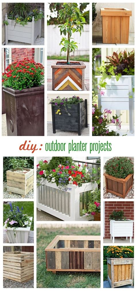 Diy Outdoor Planters by Buy Or Diy Outdoor Square Planters Centsational