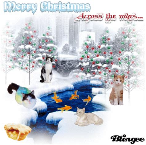 merry christmasacross  miles picture  blingeecom