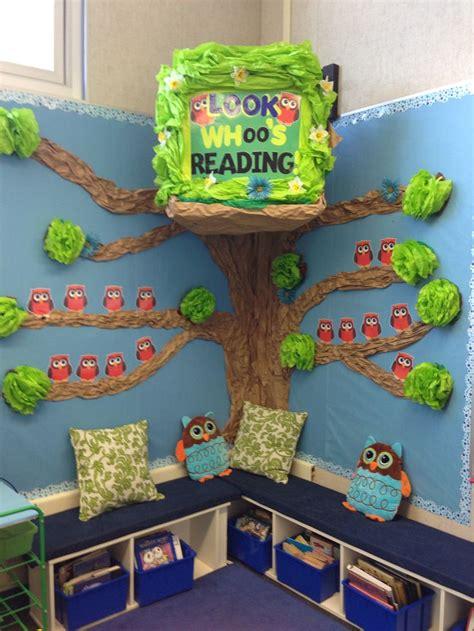 104 Best Owls Images On Owl Classroom Ideas - reading corner with owl theme it ikea bookshelves