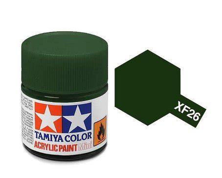 Tamiya Acrylic Xf 26 Green tamiya paint acrylic mini xf26 green 10ml bottle paint