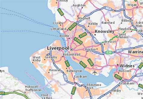 liverpool map liverpool map detailed maps for the city of liverpool