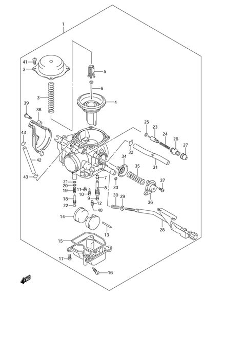 suzuki 400 king wiring diagram suzuki auto parts