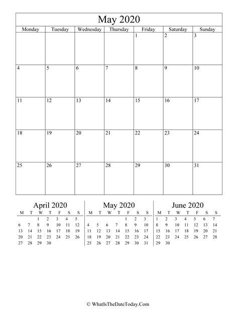 editable calendar vertical layout whatisthedatetodaycom