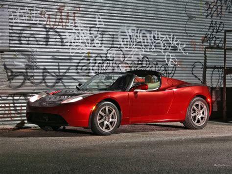 Tesla Racing Car Tesla Roadster Race Car 11 Free Hd Wallpaper