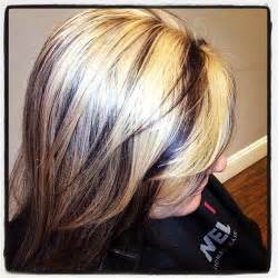 low lights on black shoulder length hair chunky blonde hairstyles with lowlights photos new