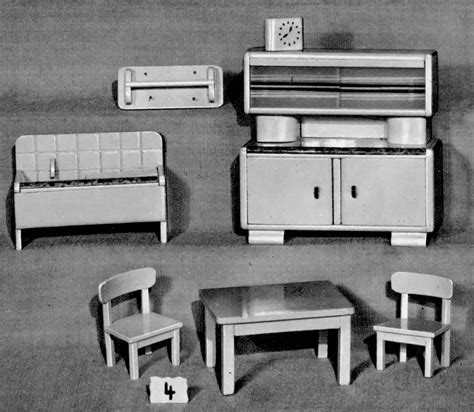 Saxony House Furniture by Dolls House Furniture Of Ullrich And Hoffmann