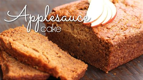 vegan applesauce cake vegan cooking with love