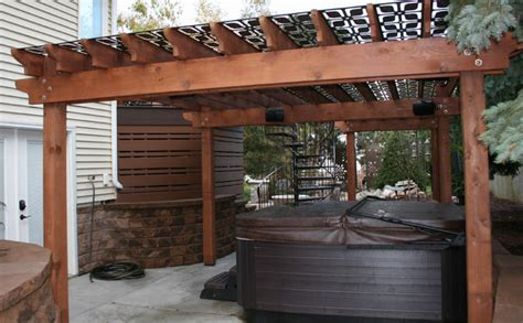 pergola screen ideas privacy panels and pergola screen transitional patio other metro by timothy j hawley
