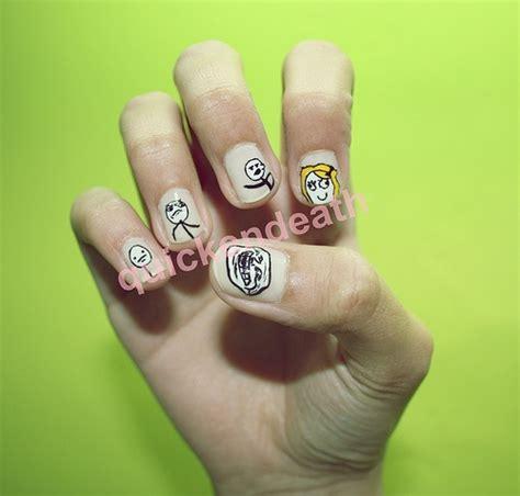 Meme Nails - meme nail art ii lol nail art pinterest