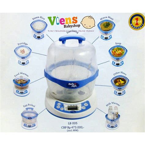 Baby Safe Blender produk baby safe membuat mpasi menjadi lebih mudah ibuhamil
