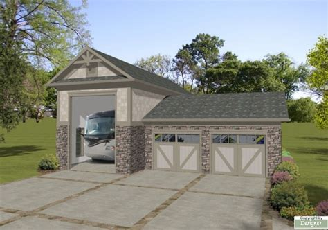 rv garage home plans rv garage 3070 the house designers