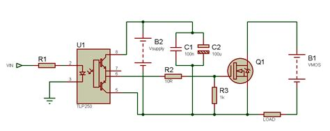 transistor high side driver tahmid s using the tlp250 isolated mosfet driver