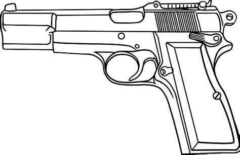 coloring pages guns gun coloring pages bestofcoloring