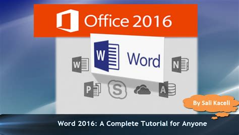 tutorial word 2016 word 2016 tutorial the complete guide to word 32