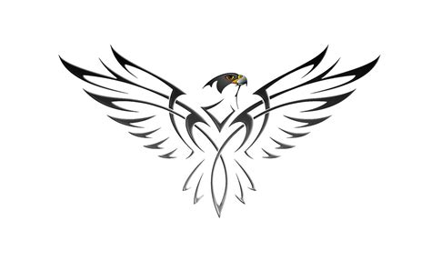 peregrine falcon tattoo peregrine designs and hawk