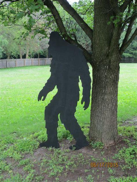 bigfoot wood pattern bigfoot big foot shadow bigfoot wood silhouette by