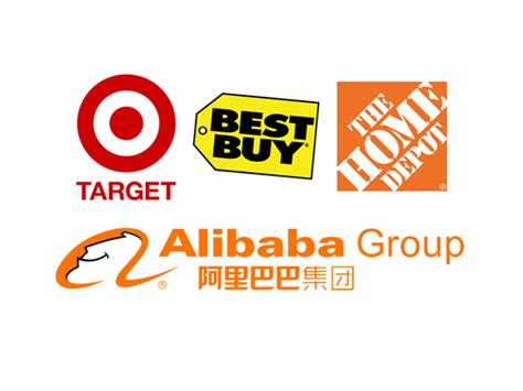 alibaba target market target tgt best buy bby home depot hd aims at