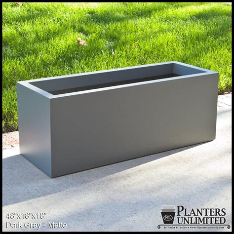 Rectangular Planter by Modern Rectangle Planter 36in L X 16in W X 16in H