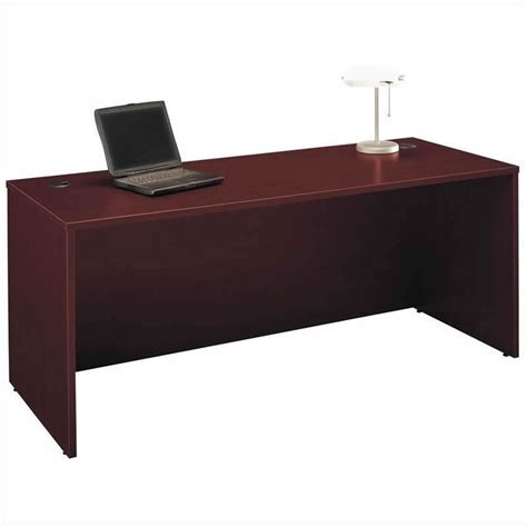 C Shaped Desk Bush Business Series C Mahogany Right L Shaped Desk Bsc044 367