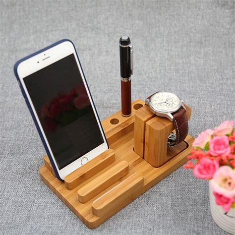 Wooden Smartphone Holder 1 wood smartphone stand pen stand pen holder phone stand