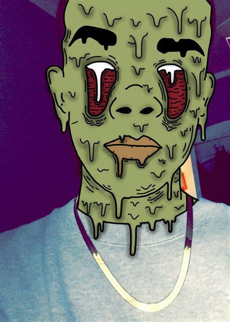tutorial zombie grime grimeedit zombie grime green red grimeart