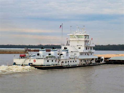 tow boat mississippi inez andreas towboats pushboats barges mississippi