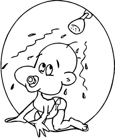 baby shower coloring pages baby shower coloring page supercoloring