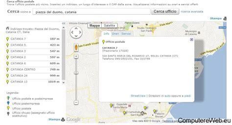 ricerca uffici postali cerca ufficio postale orari servizi e atm
