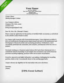 Accountant Cover Letter Sle by Cpa Certified Acountant Cover Letter Exle