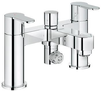 low pressure bath shower mixer 25107002 eurostyle cosmo deck 2 bath shower mixer suits high or low pressure