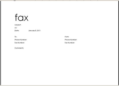 cover letter to fax resume cover letter sle