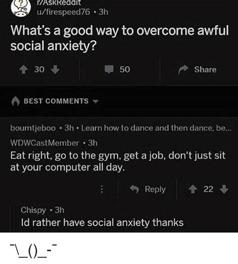 the best way to overcome anxiety is to do nothing a blog 25 best memes about social anxiety social anxiety memes