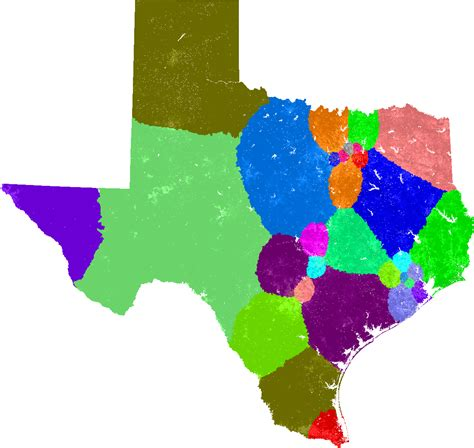 texas state senate map texas senate redistricting