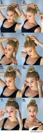 step to step hairstyles for medium hairs 22 easy hairstyles for that awkward in between hair length