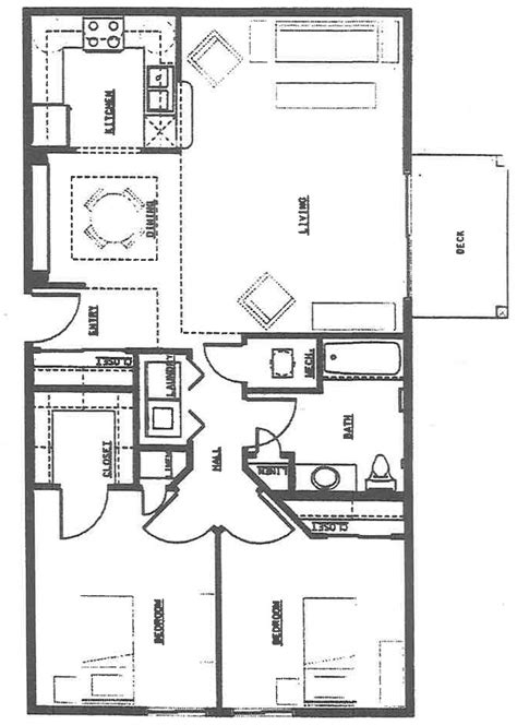 2 bedroom 2 bath ranch floor plans bedroom ranch house plans basement collection also 2 bath