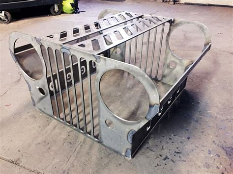 Atoz Fabrication Jeep Grill Fire Pit Kit Grill For Pit