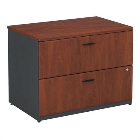 36 lateral file cabinet bush business series a 36 quot lateral file cabinet in hansen