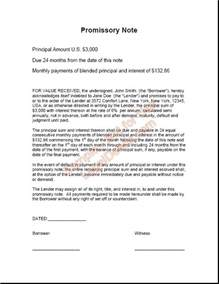 Mortgage Gift Letter From Friend Printable Sle Promissory Note Sle Form Real Estate Forms Promissory Note