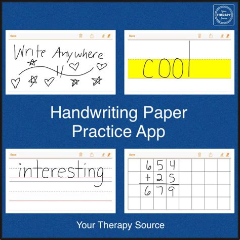 paper writing app handwriting paper practice app review your therapy source