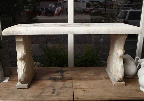marble garden bench an 18th century white carrara marble garden bench 4500 00