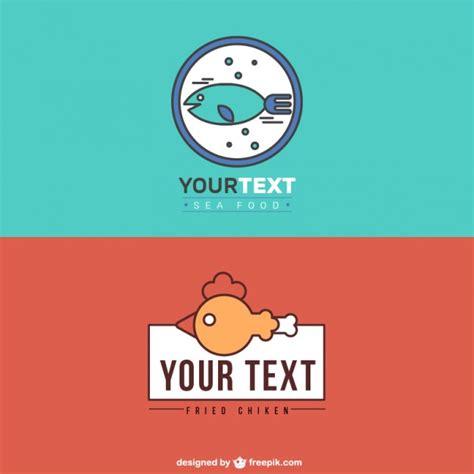 logotipos de cocina logos de restaurantes de comida de mar y pollo frito