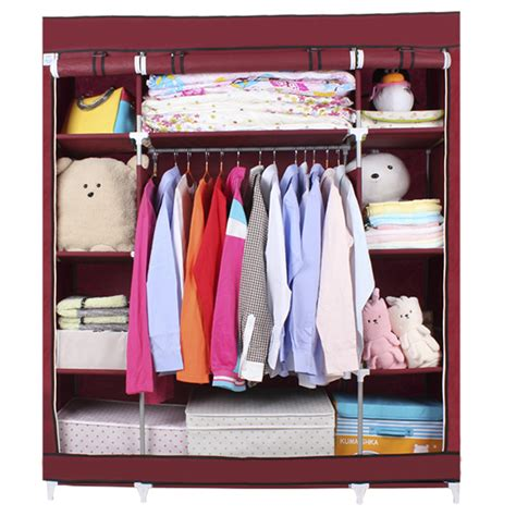 clothe storage wardrobe sundries storage closet brand new