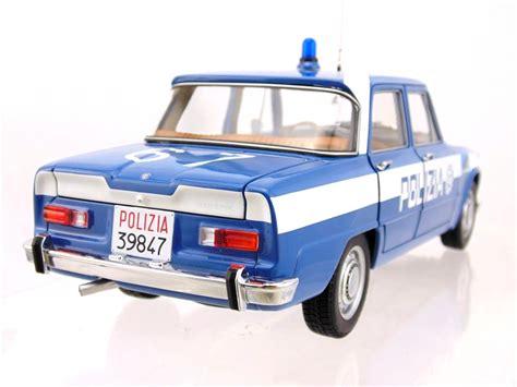 squadra volanti alfa romeo giulia 1600cc polizia 1970 squadra