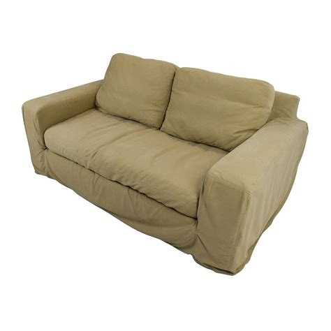 90 off pottery barn pottery barn slipcovered couch sofas