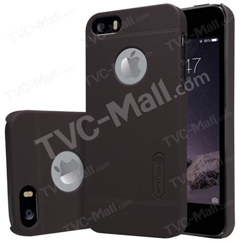 Nillkin Frosted Shield Apple Iphone 5 5s Brown nillkin frosted shield for iphone se 5s 5 screen protector brown tvc mall