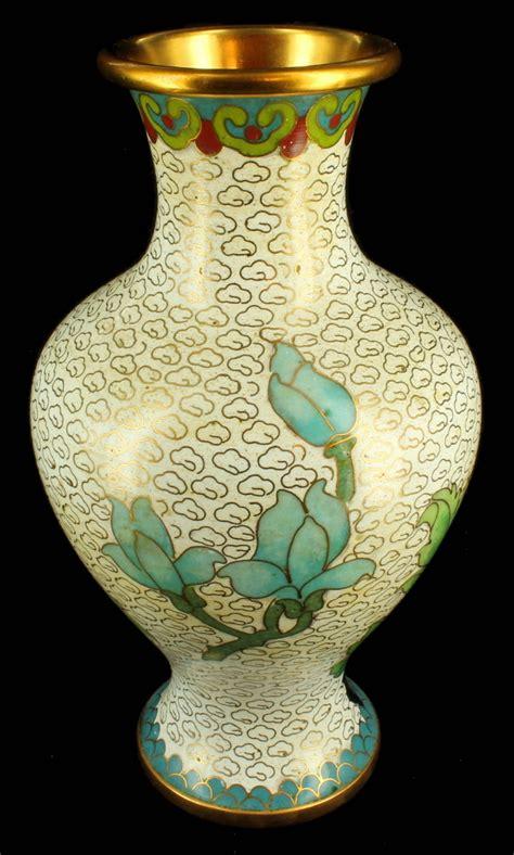 Cloissone Vase by Antique 1920 S Cloisonne Vase Vases Pair Peones