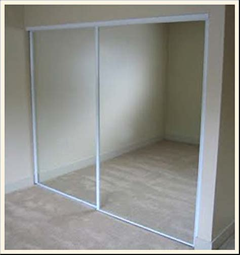 Sliding Glass Mirrored Closet Doors Sliding Door Closet How Do I Light Sound Seal It Grasscity Forums