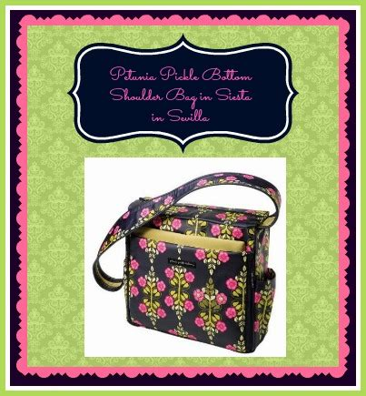Every Bag Reader Is A Winner In The Koodos Designer Bag Competition Enter Now To Win A Paul Smith Or Furla Bag To Name Only A Few The Bag by Giveaway One Reader To Win A Petunia Pickle Bottom Siesta